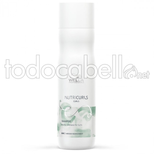 Wella Nutricurls Micellar Shampoo für Locken 250ml