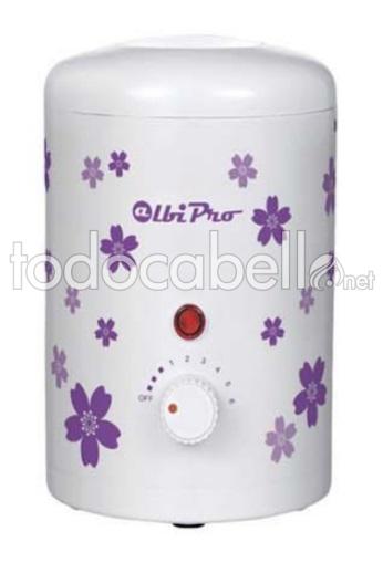 AlbiPro Mini Melter Wax Blume weiß / lila 165ml ref: 2819