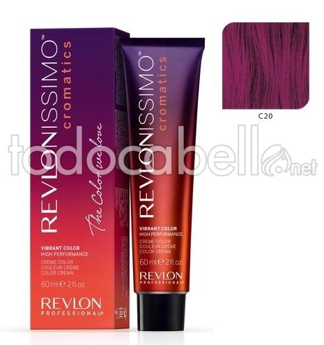 Leuchtende Farbe leuchtende farbe farbton revlonissimo cromatics c20 auberginen-lila